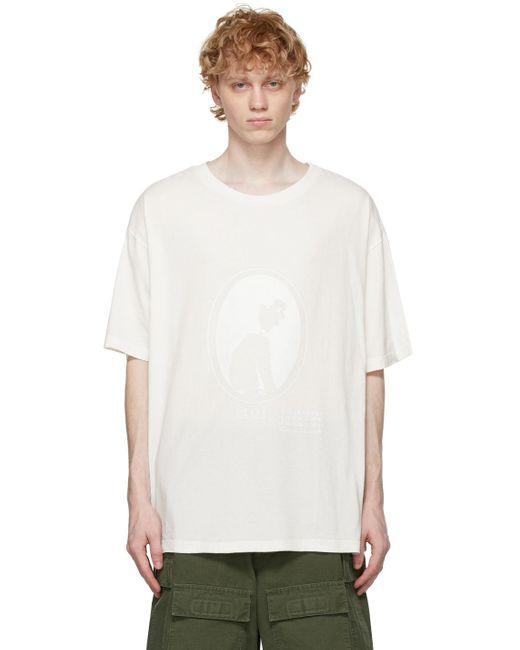 メンズ Maison Margiela オフホワイト Cameo T シャツ White