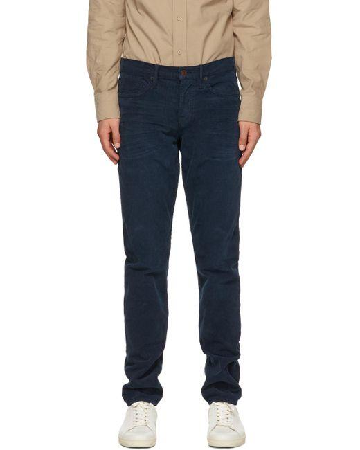 メンズ Tom Ford ブルー Slim-fit トラウザーズ Blue