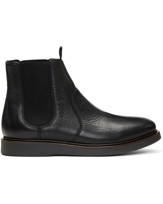 H by Hudson | Black Brooksby Chelsea Boots for Men | Lyst