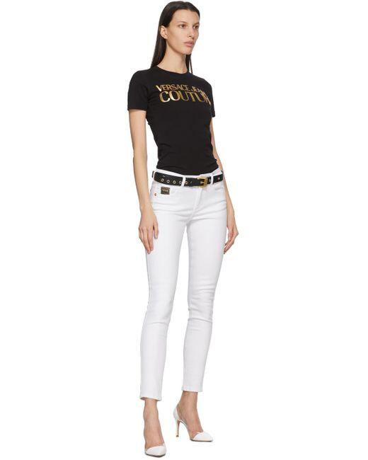 Versace Jeans ブラック Couture I ベルト Black