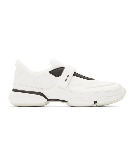 メンズ Prada ホワイト クラウドバスト スニーカー White