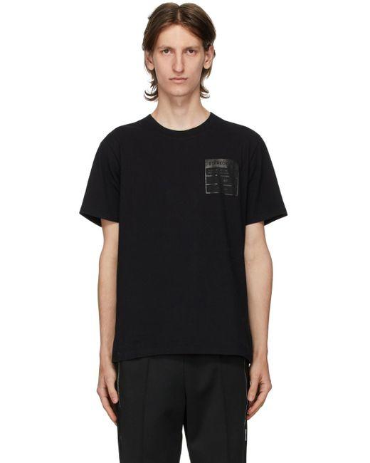 メンズ Maison Margiela ブラック Stereotype T シャツ Black