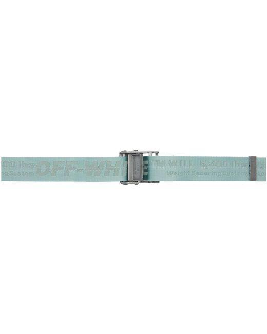 Off-White c/o Virgil Abloh Blue Classic Industrial Belt