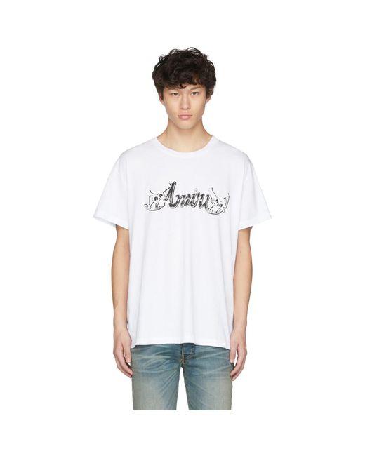 メンズ Amiri ホワイト Motley Crue T シャツ White