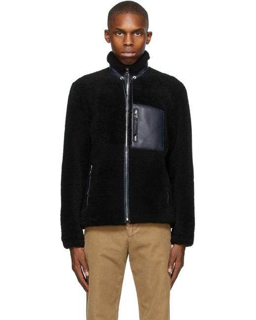 メンズ Loewe ブラック ジャケット Black