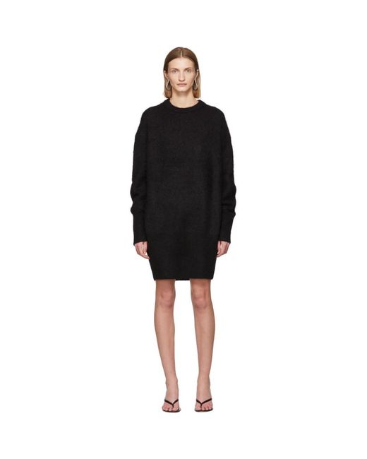 Totême  ブラック アルパカ Biella ドレス Black