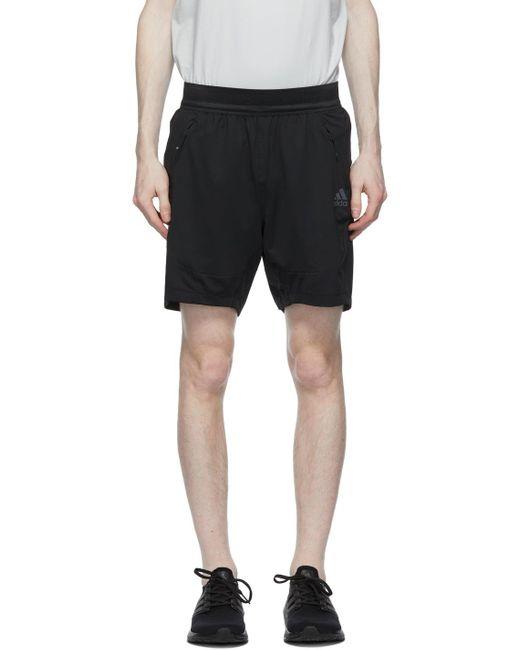 メンズ Adidas Originals ブラック Heat.rdy トレーニング ショーツ Black