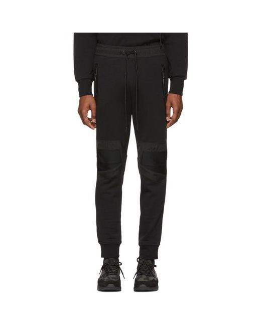 DIESEL - Black ブラック P-osamu-sw ラウンジ パンツ for Men - Lyst