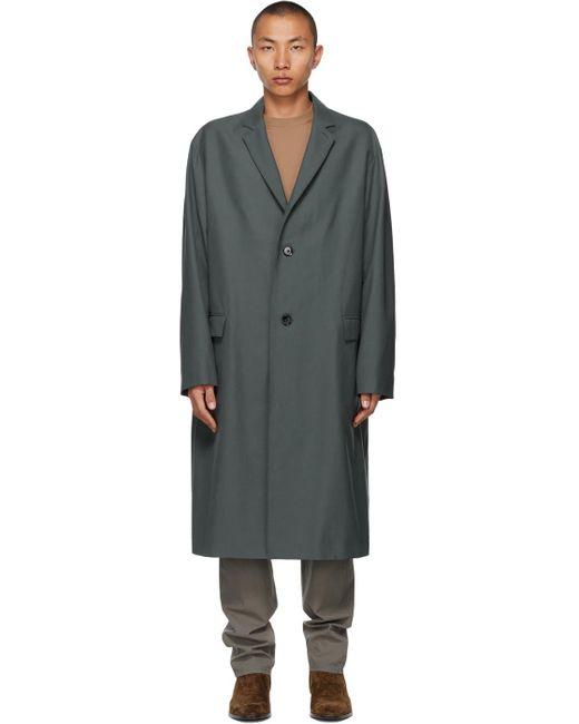 メンズ Lemaire ブルー Light Suit コート Blue