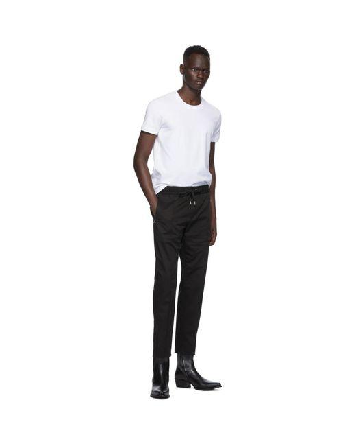 メンズ Dolce & Gabbana ホワイト ジャージ T シャツ White