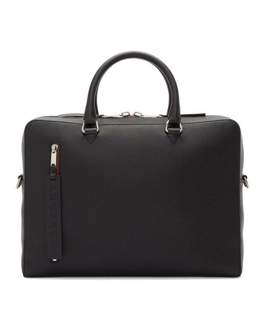 Burberry - Black Ainsworth Briefcase for Men - Lyst