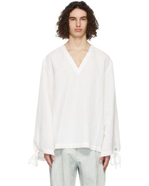 メンズ King & Tuckfield ホワイト シャツ White