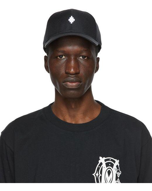 メンズ Marcelo Burlon Starter Black Label エディション ブラック Cross キャップ