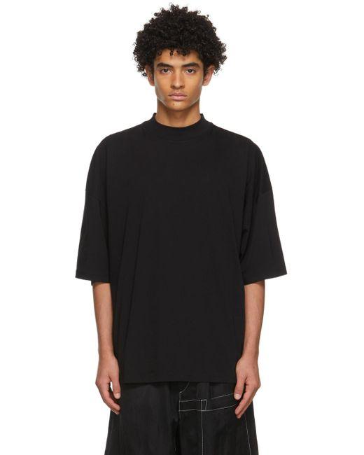 メンズ Jil Sander ブラック T シャツ Black