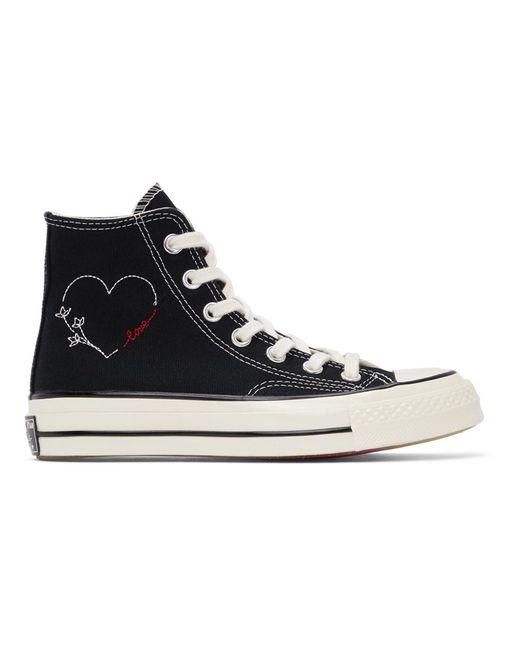 Converse ブラック Love Chuck 70 ハイ スニーカー ウィメンズ Black