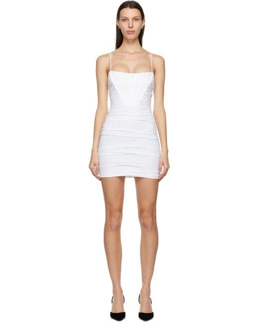 Alexander Wang ホワイト ミニ ドレス White