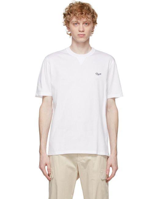 メンズ Ermenegildo Zegna ホワイト T シャツ White