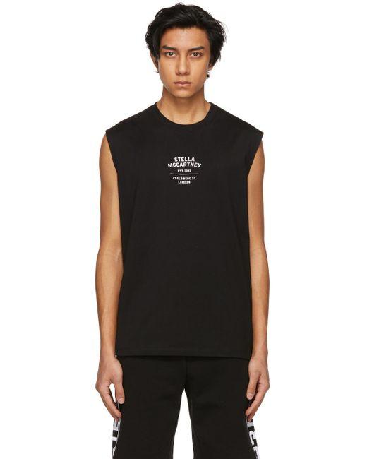 メンズ Stella McCartney Shared コレクション ブラック Obs 23 ノースリーブ T シャツ Black