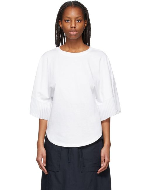 See By Chloé ホワイト T シャツ White