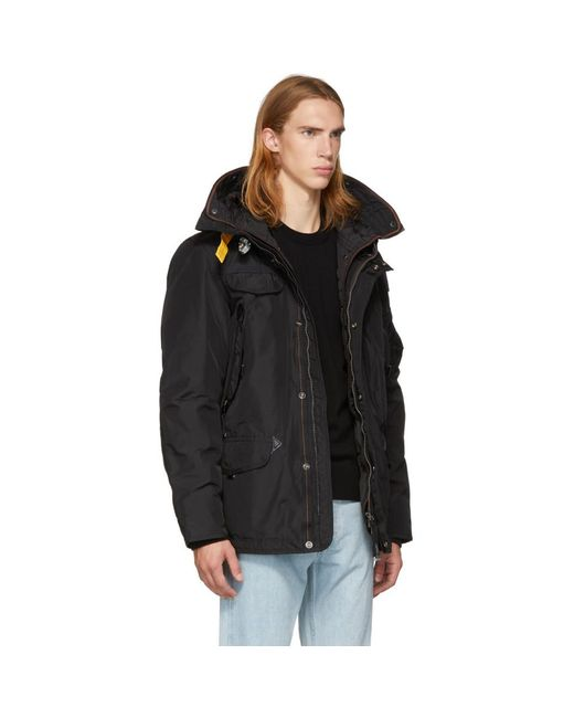 ... Parajumpers - Black Masterpiece Base Right Hand Jacket for Men - Lyst ...