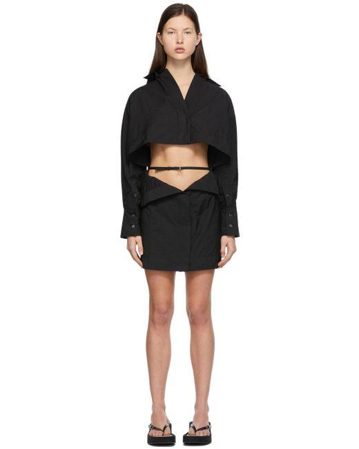 Jacquemus ブラック La Robe Terraio ドレス Black