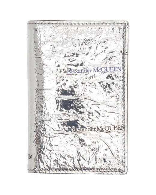メンズ Alexander McQueen シルバー ポケット オーガナイザー Metallic