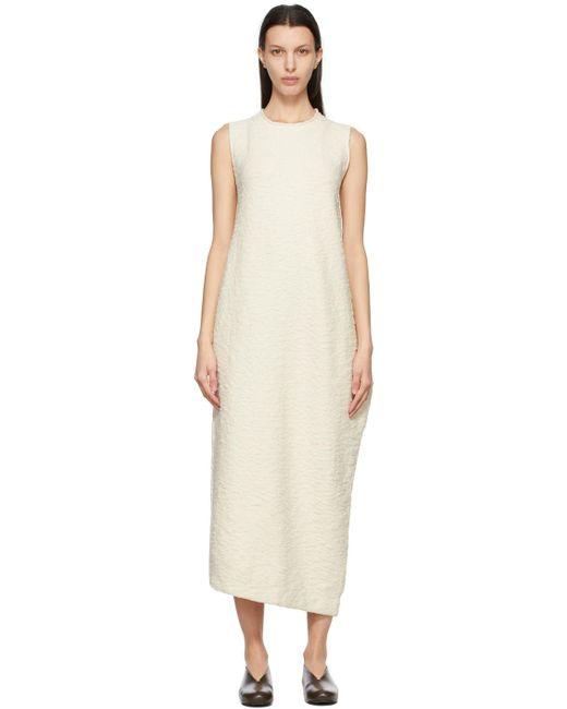 Lauren Manoogian オフホワイト Bend ドレス White
