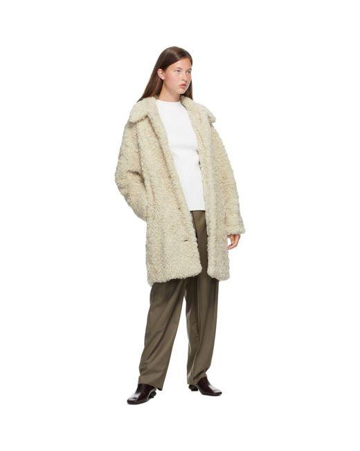 Low Classic オフホワイト Whole Garment ショート モック ネック White