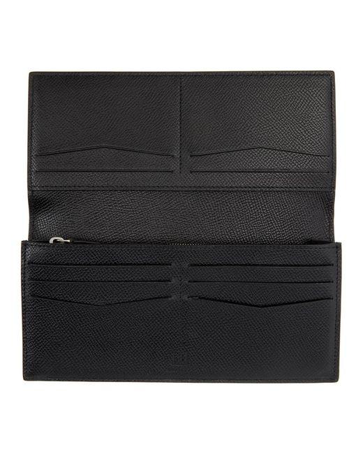 メンズ Dunhill ブラック Cadogan Coat ウォレット Black
