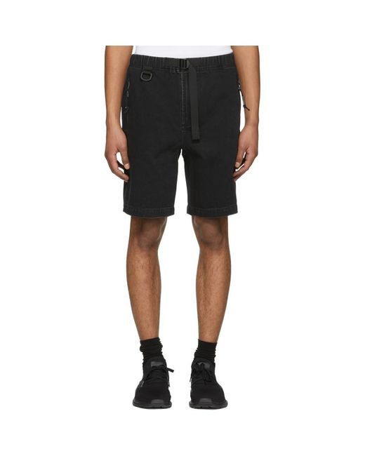 Alexander Wang - Black Denim Shorts for Men - Lyst