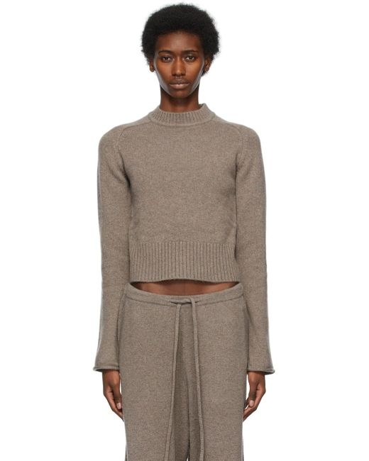 Extreme Cashmere トープ N°152 Cherie セーター Brown