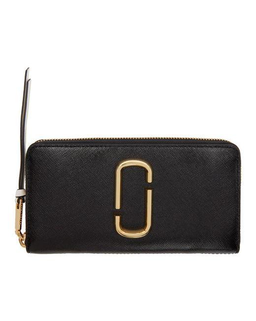 Marc Jacobs - Black Standard Continental Wallet - Lyst