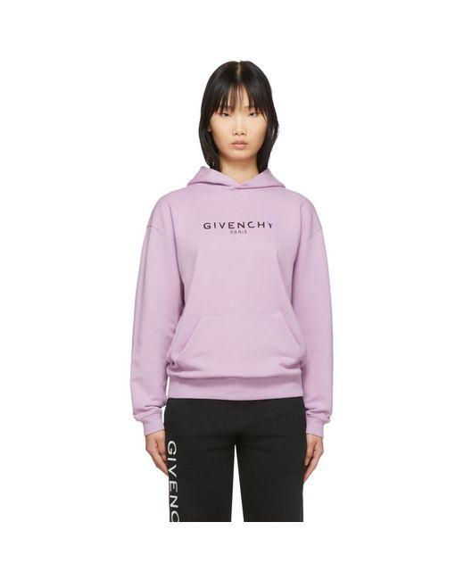 Givenchy パープル ビンテージ フーディ Purple