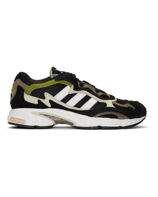 Adidas Originals ブラック And ホワイト Temper Run スニーカー Black