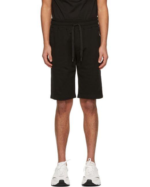 メンズ Dolce & Gabbana ブラック バミューダ ショーツ Black