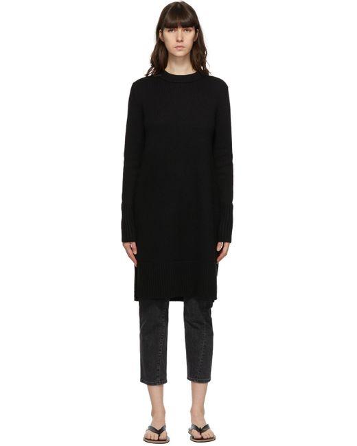 Totême  ブラック Slit Knit セーター Black