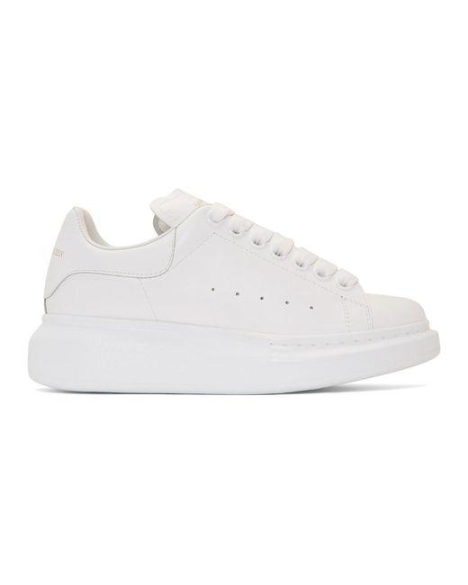 Alexander McQueen - White Oversized Sneaker - Lyst