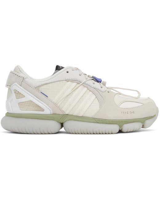 メンズ OAMC Adidas Originals エディション グレー & オフホワイト Type 0-6 スニーカー Gray