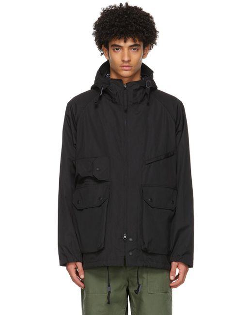 メンズ Engineered Garments ブラック Atlantic マウンテン パーカー Black