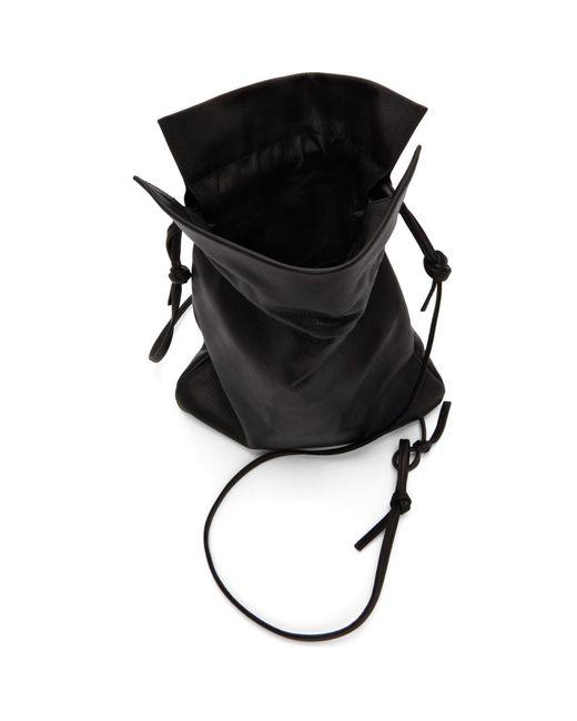 Y's Yohji Yamamoto ブラック Soft ポシェット バッグ Black