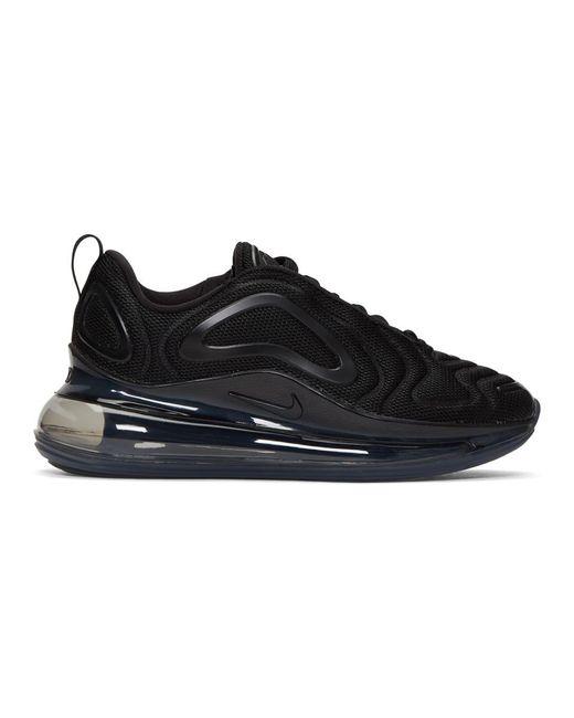 Nike ブラック エア マックス 720 スニーカー Black