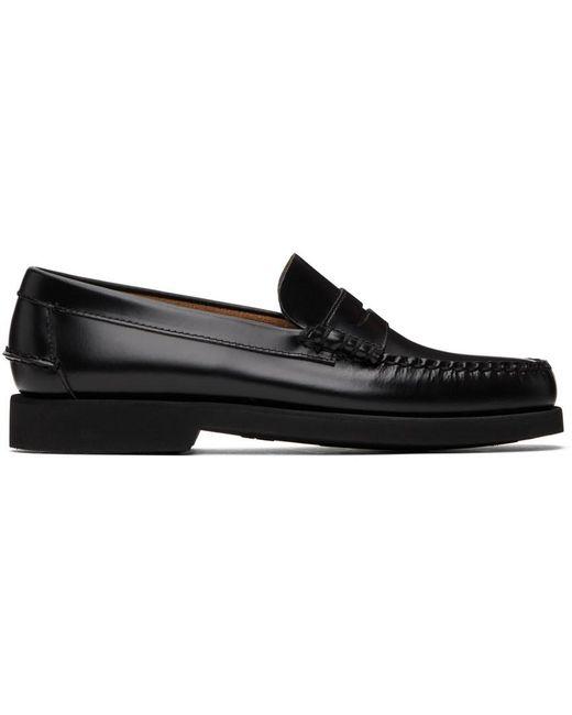 Sebago Black Dan Polaris Loafers for men