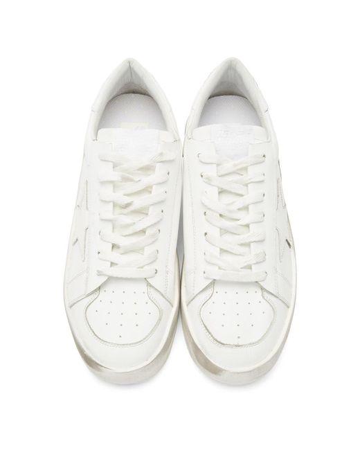 メンズ Golden Goose Deluxe Brand ホワイト Stardan スター スニーカー White