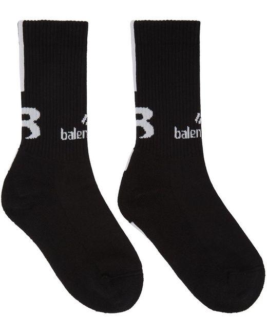 Balenciaga ブラック Sponsor ソックス Black