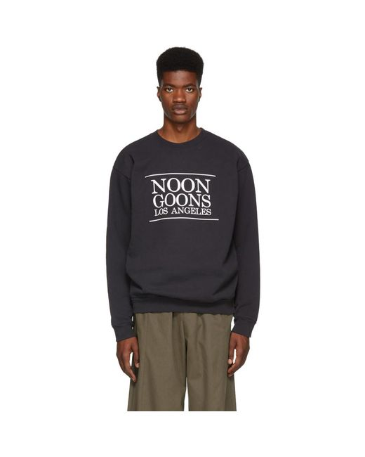 Noon Goons - Black Pull molletonne noir Los Angeles for Men - Lyst