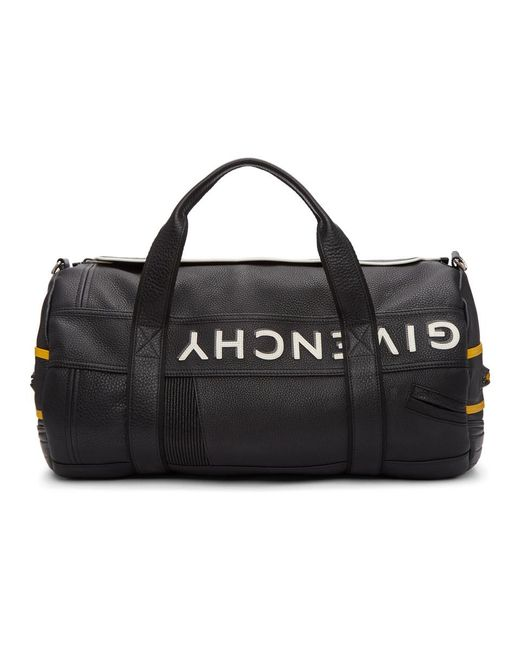 Givenchy - Black Mc3 Leather Duffle Bag for Men - Lyst