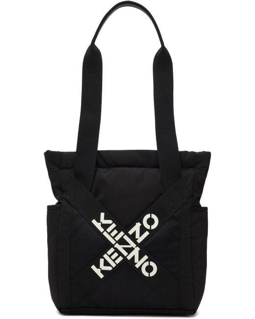 KENZO ブラック スモール Sport トート Black