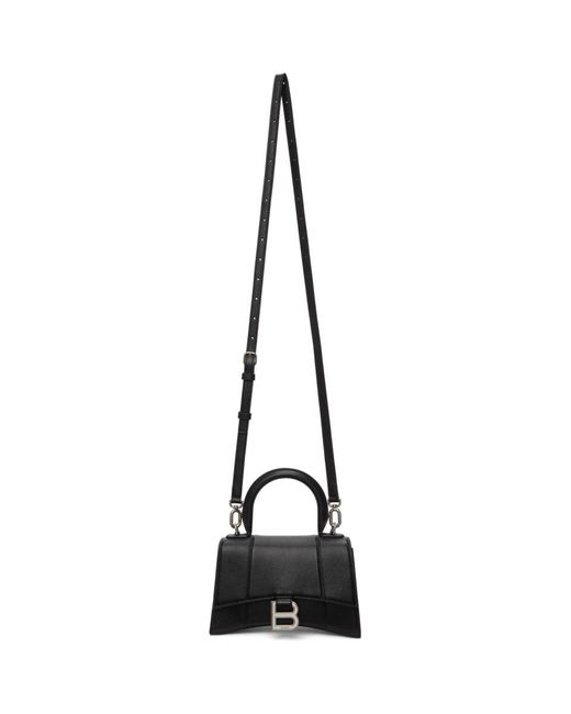 Balenciaga ブラック Xs Hourglass バッグ Black