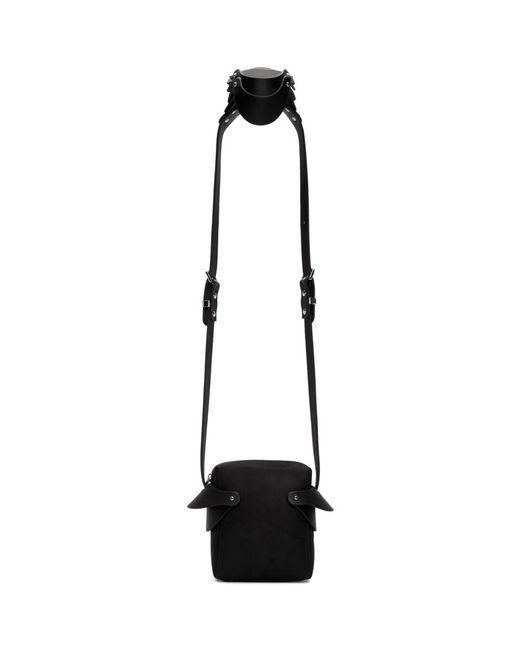 Fleet Ilya Black Shoulder Piece Bag