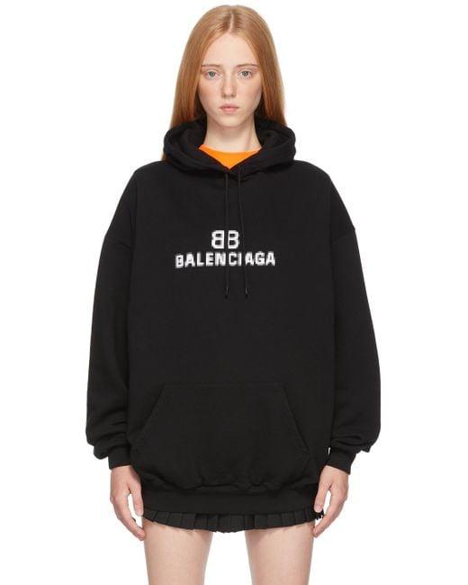 Balenciaga ブラック Bb Pixel フーディ Black
